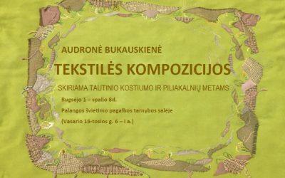 Kvietimas į Audronės Bukauskienės parodą