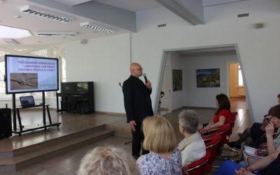Dr. Juliaus Neverausko paskaita Palangos miesto pedagogams