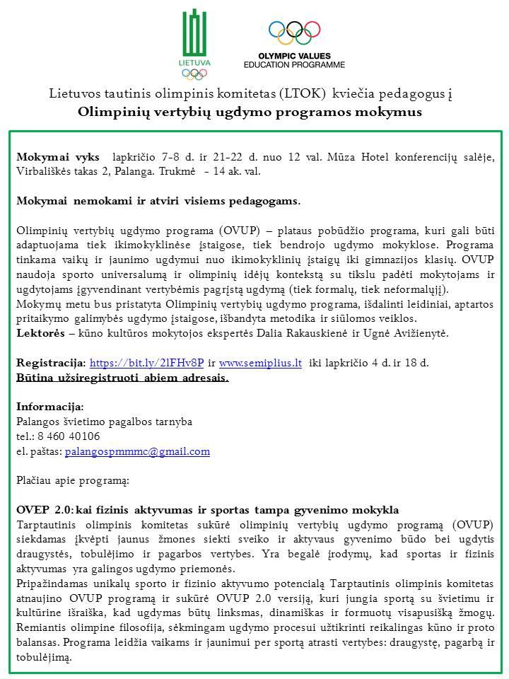 Olimpiniai mokymai (2)