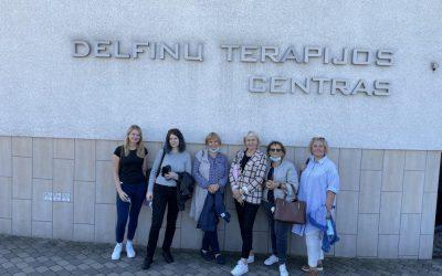Pažintinė – mokomoji išvyka į delfinų terapijos centrą